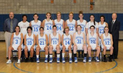 Women's basketball win GNAC opening round game