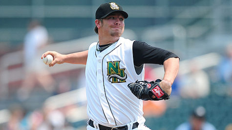 Pitching prospect Drabek looking to make good impression