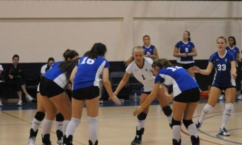 Women's volleyball team wraps up season