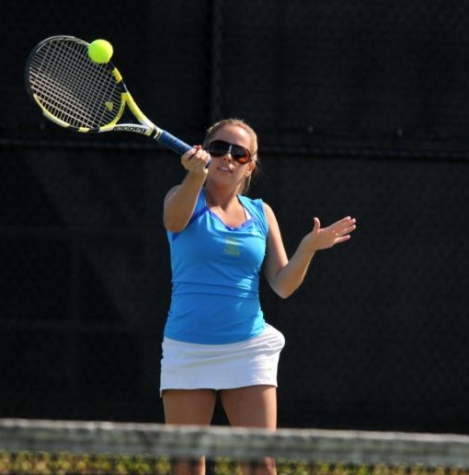 Womens' Tennis Picks up the Pace in Final Week of the Season
