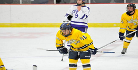 Men's Hockey ends season in with 2-2 tie, look to improve next year