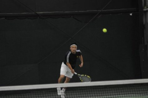 Men's tennis falls to Ramapo College in GNAC final
