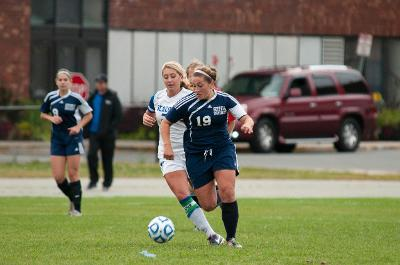 Soccer Lady Rams within leg's reach of the GNAC playoffs