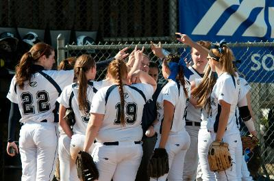 Suffolk softball starts season slowly  looking to improve against UMass Boston