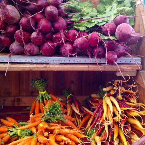 A taste of fall at the farmer's market