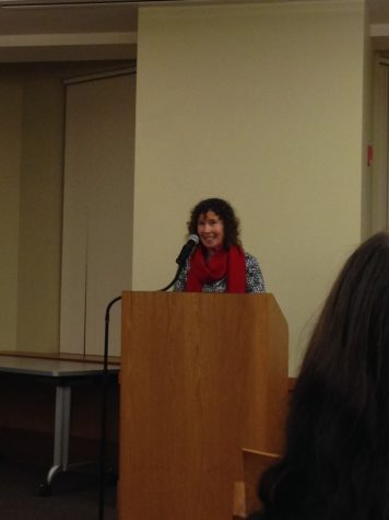 Scottish writer Margot Livesey speaks at Poetry Center