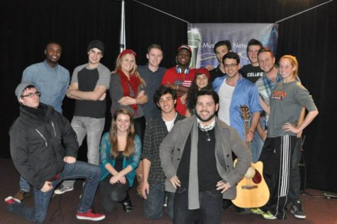 Open Mic Night draws talent from across campus