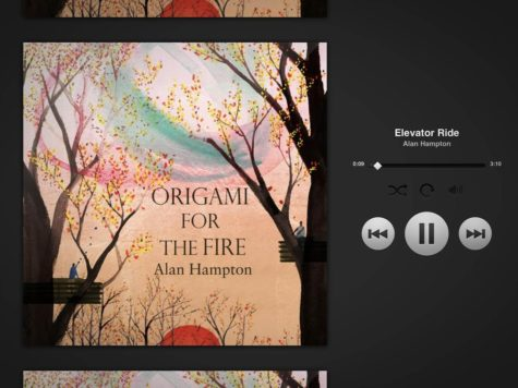 Alan Hampton releases Origami For The Fire