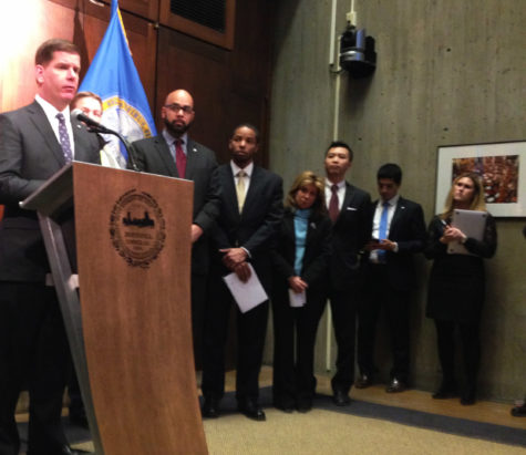 Mayor Walsh, officials, address storm as city prepares to shut down