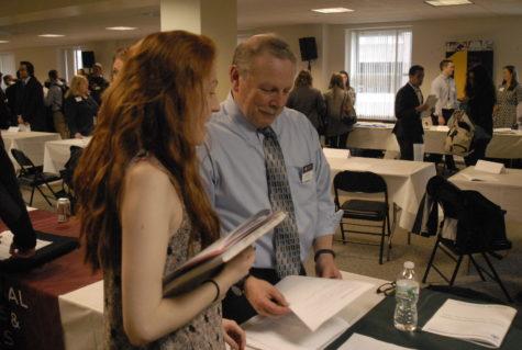Some students felt underprepared for summer internship fair