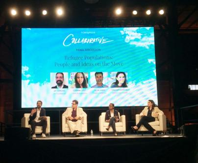 Entrepreneurs discuss refugee reality, encourage continued collaboration