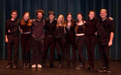 Troupe chooses laughter, first