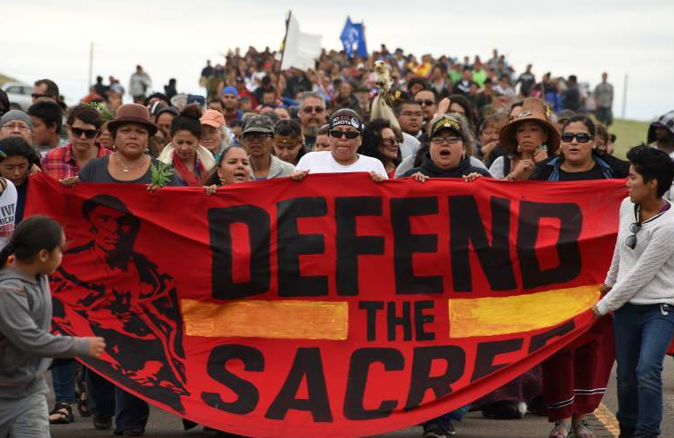 Native Americans deserve their right to land