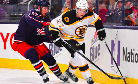 Commentary: Marchand-Backes-Pastrnak line leads the Bruins to season opener win
