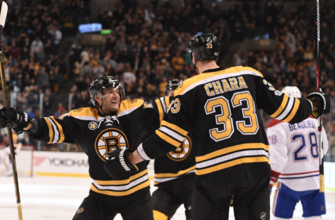 Bruins shuts out Montreal Canadiens with 4-0 win