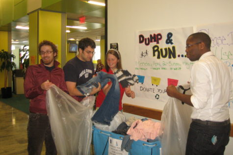 Dump and Run collects items, prevents waste