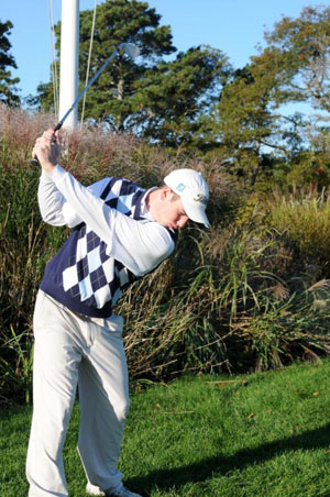 Young potential drives the men's golf team