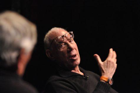 Filmmakler Bob Rafelson visits, speaks at Suffolk