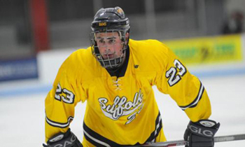 Sophomore forward Charlie McGinnis has nine goals and seven assists this season.