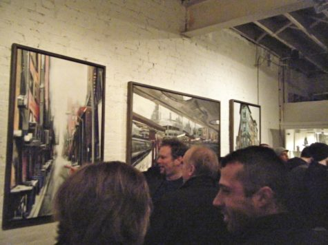 Lot F exhibits 'Three' artists