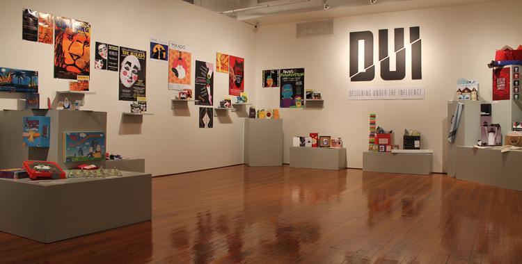 Graphic design seniors showcase work at NESAD