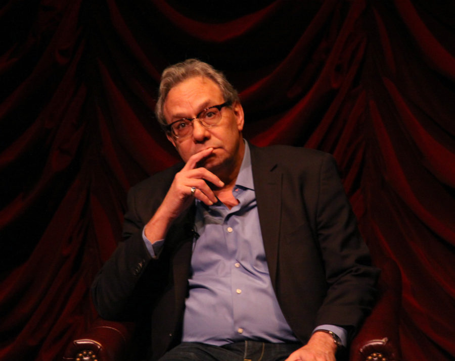 Comedian Lewis Black speaks about theater, politics