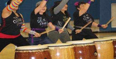 Genki Spark drums in Ridgeway