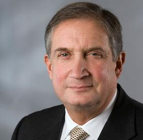 Provost Barry Brown leaving Suffolk
