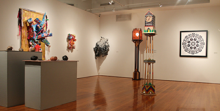 Biennial faculty exhibition shows off NESAD professors' diverse talents