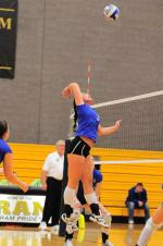 Suffolk Women's Volleyball Team Smashes Salem State