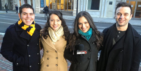 Aspiring Broadcasters take on 'Suffolk in the City'