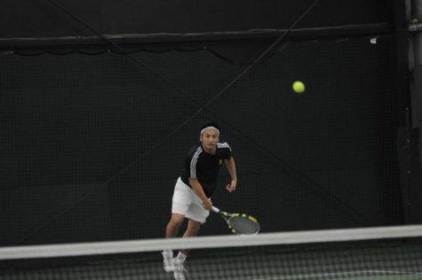 Men's tennis falls to Ramapo College in GNAC final