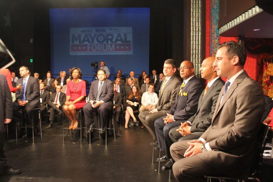 Boston Mayoral Forum at Suffolk University's Modern Theatre  (Photos by Ally Thibault)