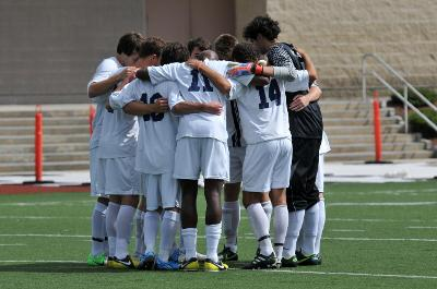 Men's soccer earn first victory of the season