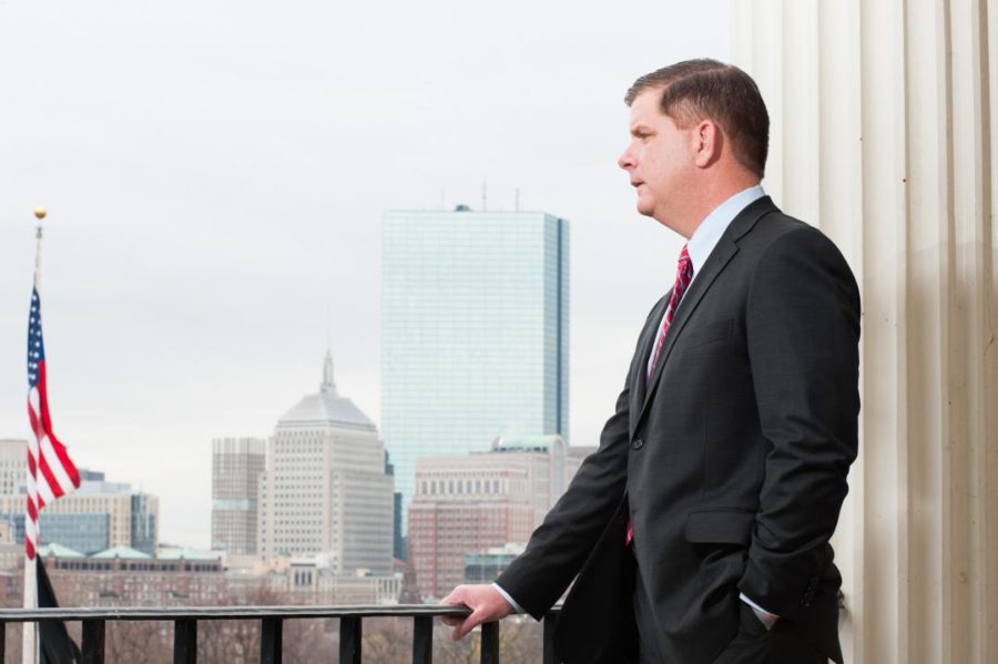 State Rep. Marty Walsh, a candidate for mayor in Boston