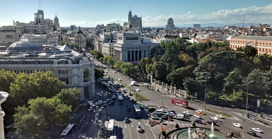 Plaza de Cibeles, Madrid (Photo courtesy of Suffolk University)