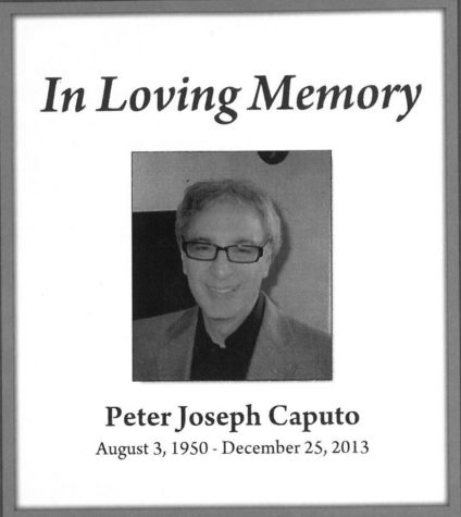Students, faculty reflect on Peter Caputo, a passionate professor who inspired all