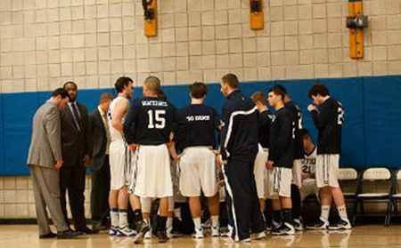 Disappointing season for men's basketball comes to an end  with close loss to Saint Josephs of Maine