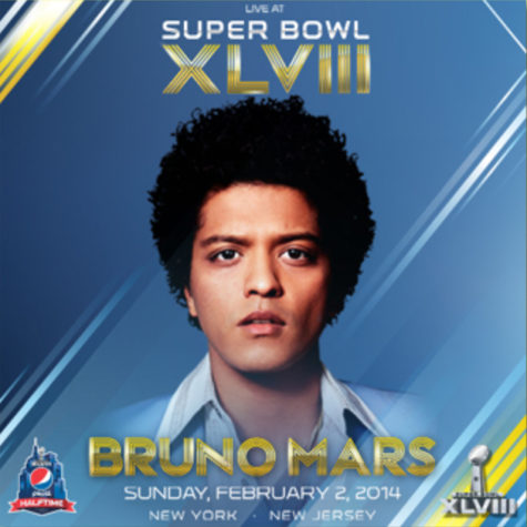 Best live halftime performance by Bruno Mars