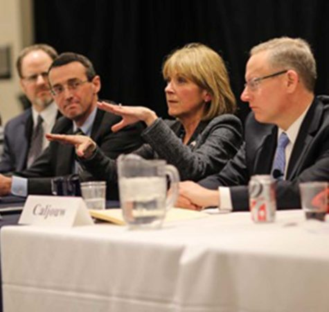 Martha Coakley delivers at roundtable