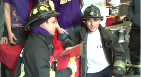 Suffolk SAE chapter rescues fire boot