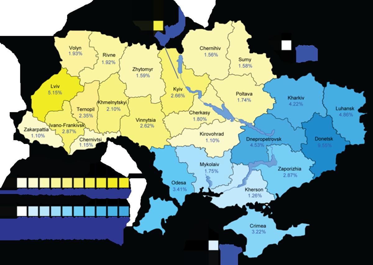 Local Organization Ukrainian Boston Reacts To Crisis The - Ukraine political map