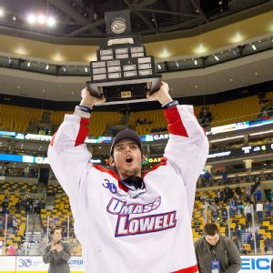 UMass Lowell takes the Lamoriello Trophy, Hockey East Championship
