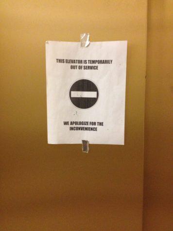 Students' trust  in elevators needs a lift