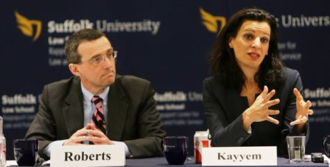 Juliette Kayyem closes off  gubernatorial debates at Rappaport Center