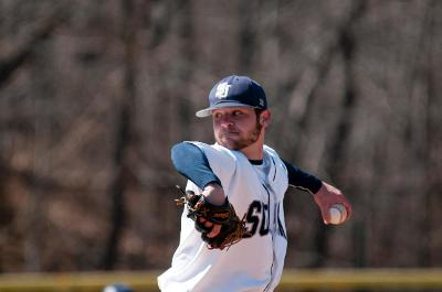 Senior and pitcher Jonathan Richard.