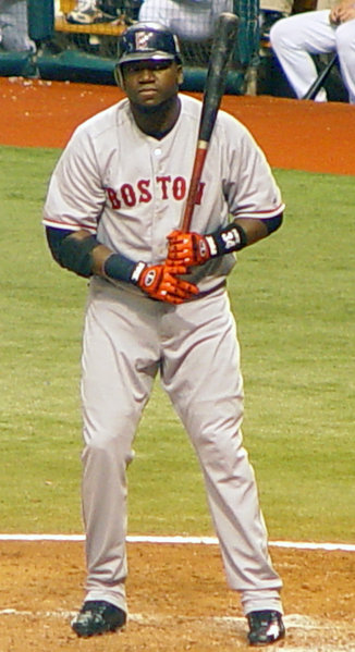Red Sox DH David Ortiz 