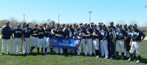 In a three-game series with Roger Williams, the Rams won their second ECAC title.