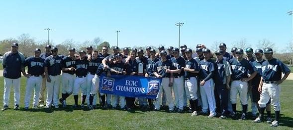 In a three-game series with Roger Williams, the Rams won their second ECAC title. (Photo courtesy of Suffolk Athletics)