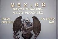 Monument seen en route to the border city of Nuevo Progreso, Mexico.  (Photos by David Alvarado)